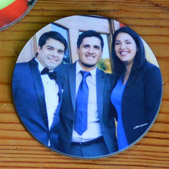 Round Photo Printed Coaster