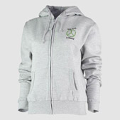 Personalised Womans Zip Hoodies