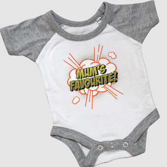 Personalised Printed Baseball Babygrow Design Online At