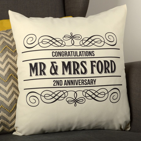 Personalised Square Cushion
