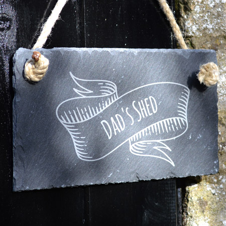 Engraved Small Slate Sign