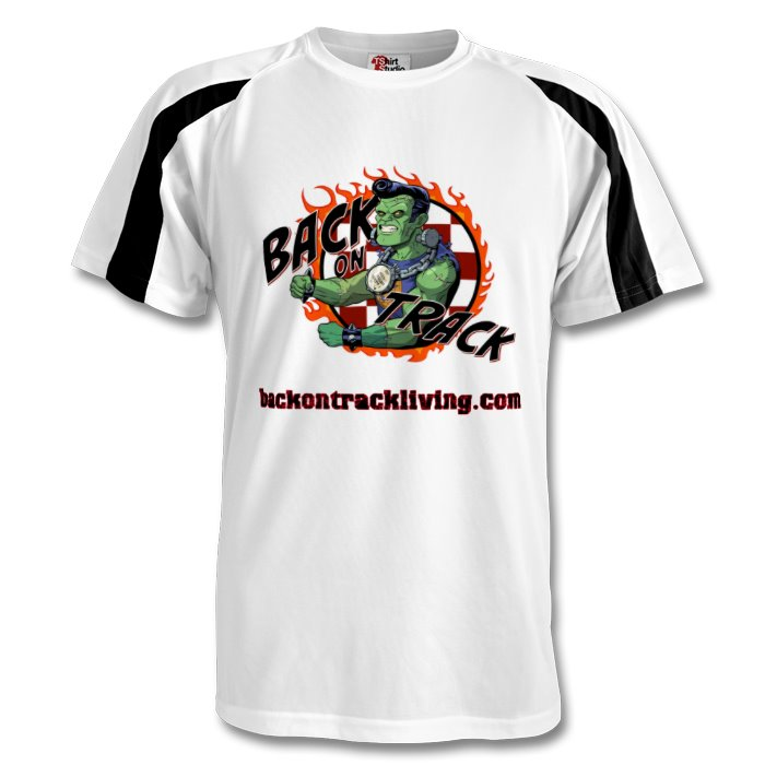 Back on Track - Mens Sports T