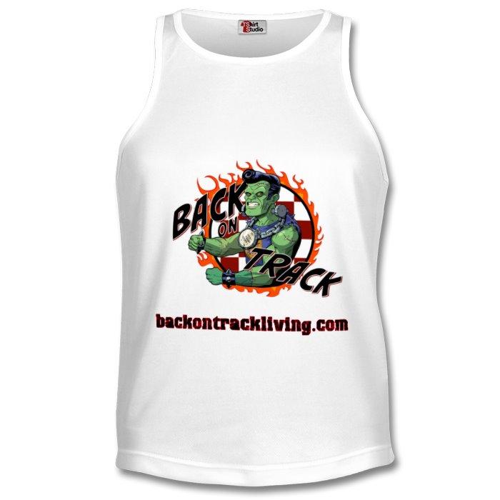 Back on Track - Mens Sports Tank