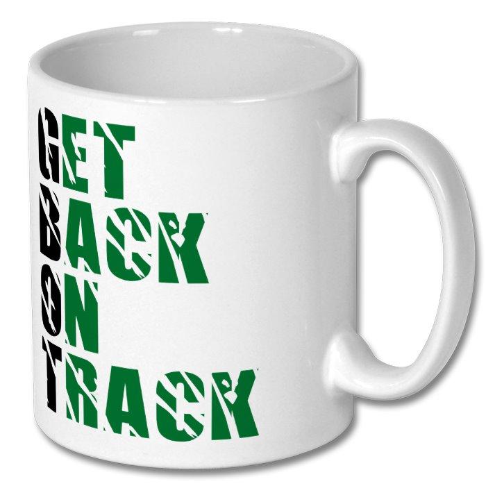 Back on Track Mug