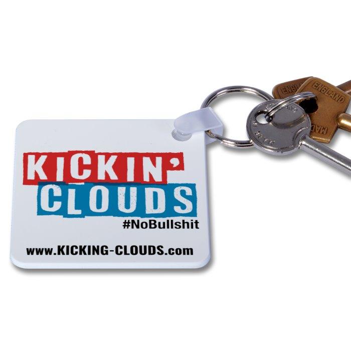 Kickin' Clouds Key Ring