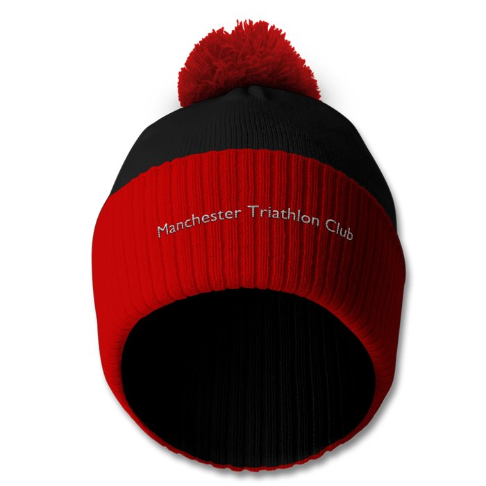 MTC bobble hat black /red