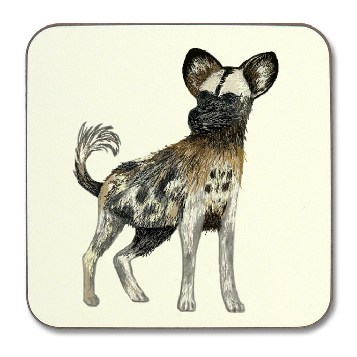 Ragdog Square Coaster