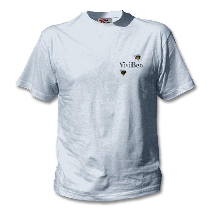 ViviBee Organic Free Trade T-Shirt - Sky Blue