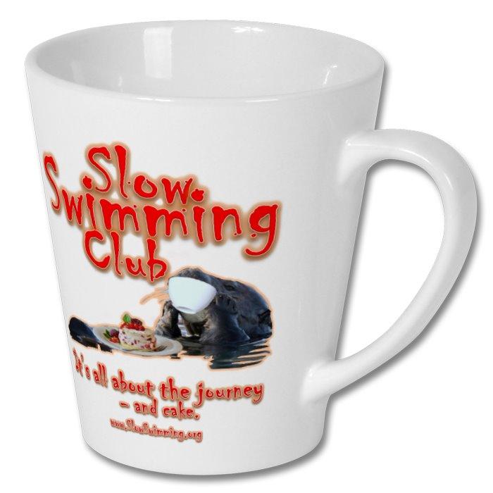 Slow Swimming Club Latte Mug