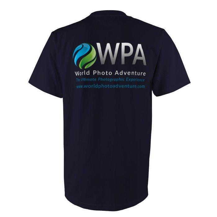 WPA Workshop Premium Dark Blue T-Shirt