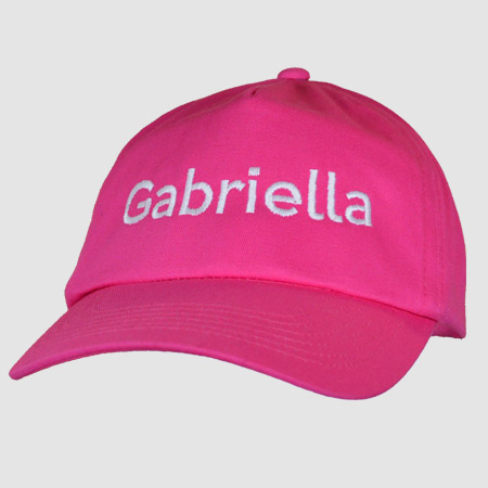 Personalised Embroidered Kids Baseball Cap
