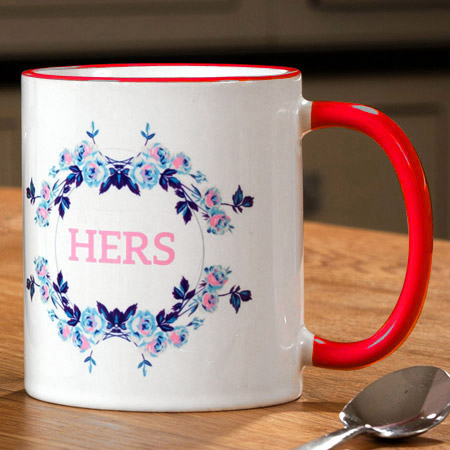 Personalised Two Tone Mug Printing