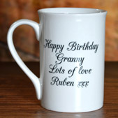 Personalised China Mugs