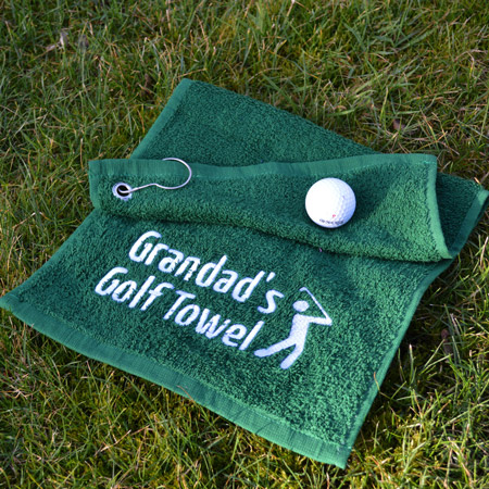 Personalised Golf Towels