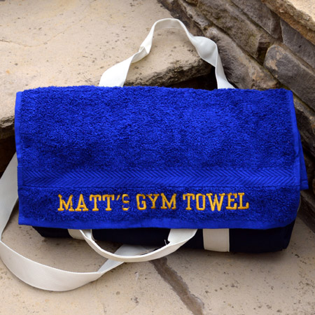 Personalised Gym Towels