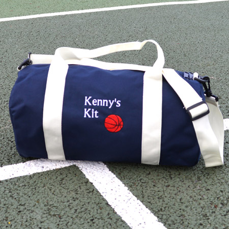 Custom Embroidered Mini Duffel Bags