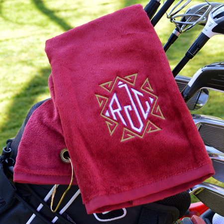 Personalised Premium Golf Towels