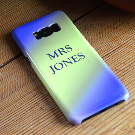 Personalised Samsung S8 Case