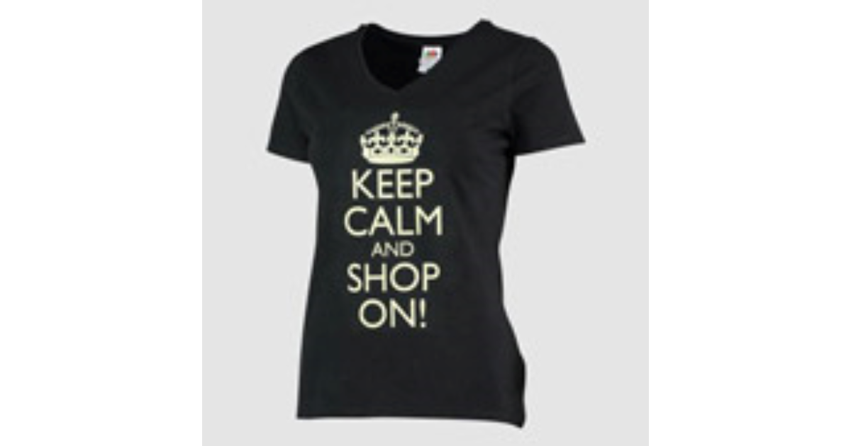 58b7c1860 Premium V Neck T-Shirt Printing | Personalised T-Shirts | Personalised Gifts
