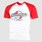Baseball t shirt printing design your own personalised t for Customize your own baseball shirt
