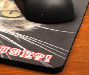 personalised photo mouse mat printing