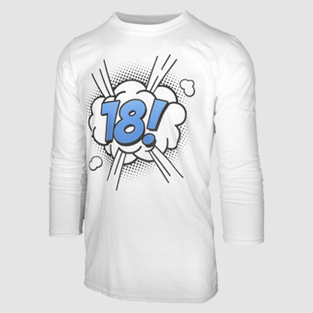 Budget Long Sleeve T-Shirt Printing