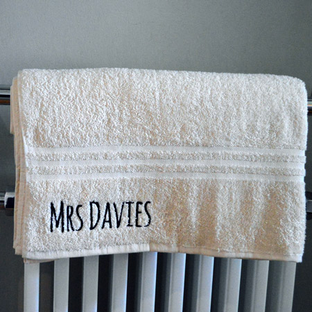 Personalised Bath Sheet