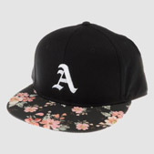 Embroidered Patterned Snapback Caps