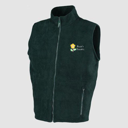 Personalised Fleece Bodywarmers