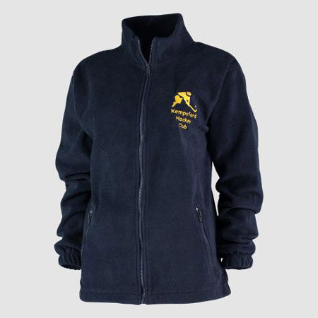 Embroidered Fleece Jackets