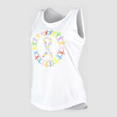 Personalised Fitted Sports Tank Top Printing